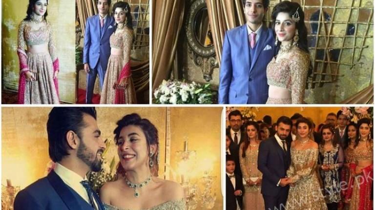 Urwa Farhan Reception Pictures