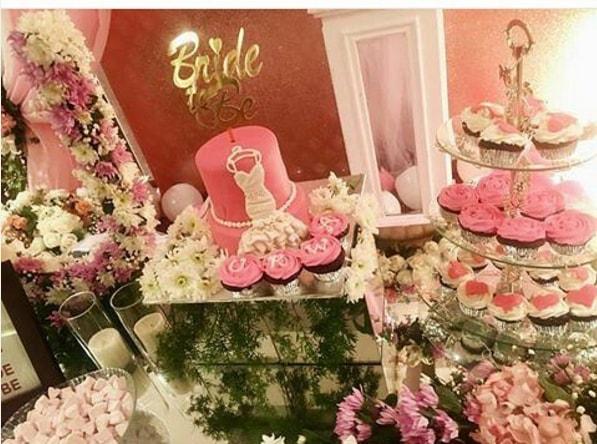 Urwa Hocane Bridal Shower Decoration Pics (4)