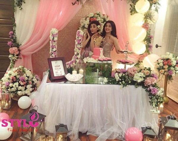 Urwa Hocane Bridal Shower Party