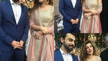 Urwa Hocane Farhan Saeed 1st Appearance After Wedding