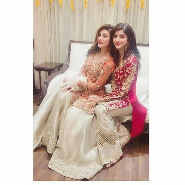 urwa with mawra on 2nd dholki