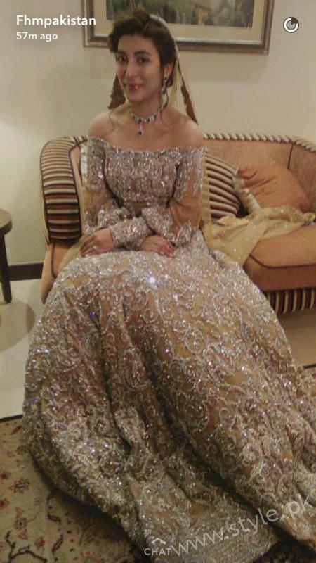 Urwa Hocane Reception Dress