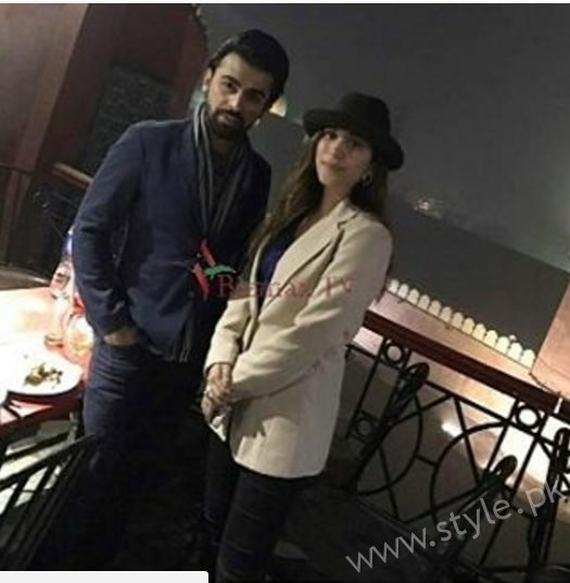 Urwa and Farhan Spotted at Cooco's Den Lahore