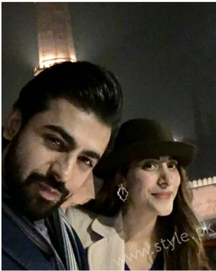 Urwa and Farhan Spotted at Cooco's Den