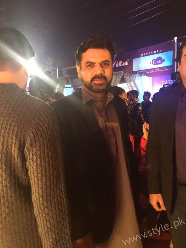 Wasay Chaudhry at the premiere of Saya E Khuda E Zuljalal