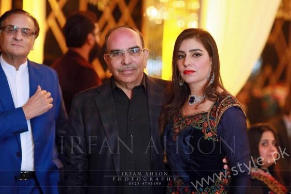Malik Riaz with  Asia