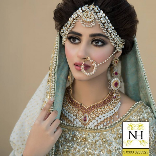bridal photoshoot Sajal Ali