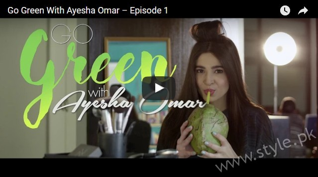 See Go Green with Ayesha Omar