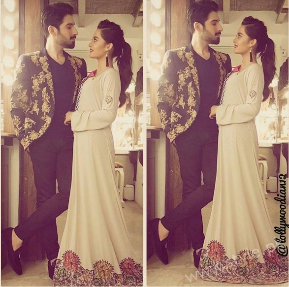 See Aiman Khan and Muneeb Butt at 'Tonight With HSY'