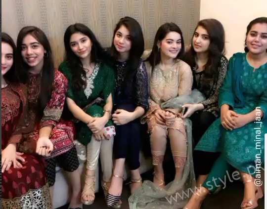 aiman khan and muneeb butt nd dholki pictures aiman muneeb 2nd dholki pictures 5