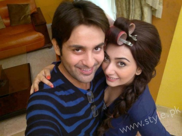 Ayesha Khan and Affan Waheed