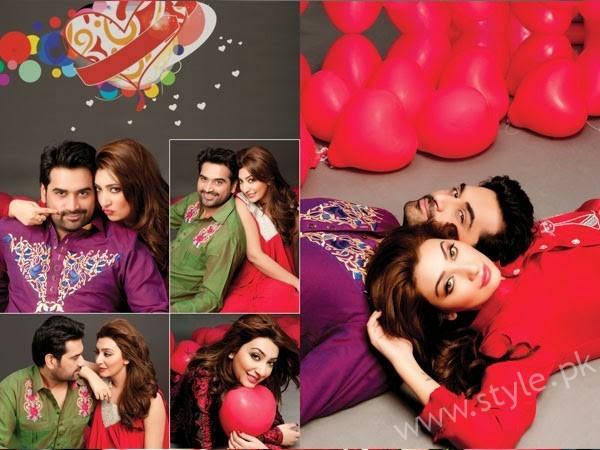 Ayesha Khan and Humayun Saeed Hot