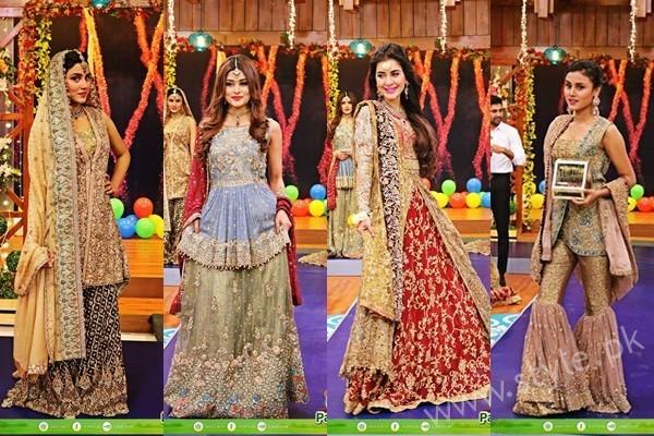 See Bridal Fashion Trends in Pakistan dispalyed at Jago Pakistan Jago