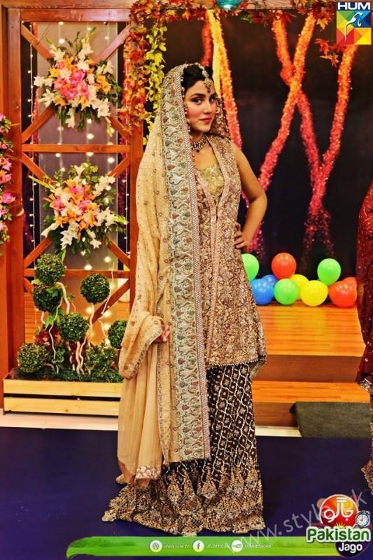 Bridal Fashion Trends in Pakistan dispalyed at Jago Pakistan Jago (4)