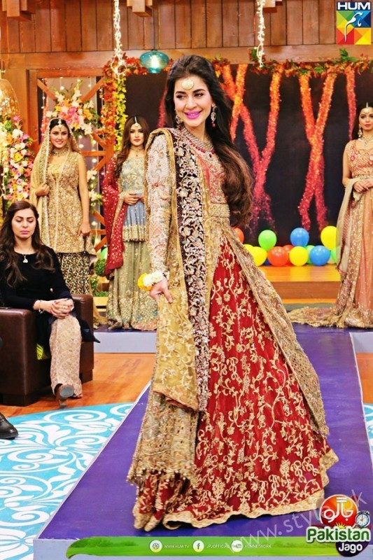 Bridal Fashion Trends In Pakistan Dispalyed At Jago