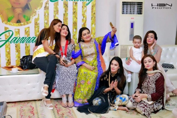 Celebrities at Javeria Saud's daughter Jannat Saud's Birthday Party (12)