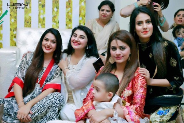 Celebrities at Javeria Saud's daughter Jannat Saud's Birthday Party (26)