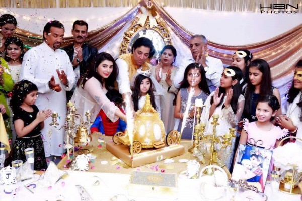 Celebrities at Javeria Saud's daughter Jannat Saud's Birthday Party (34)