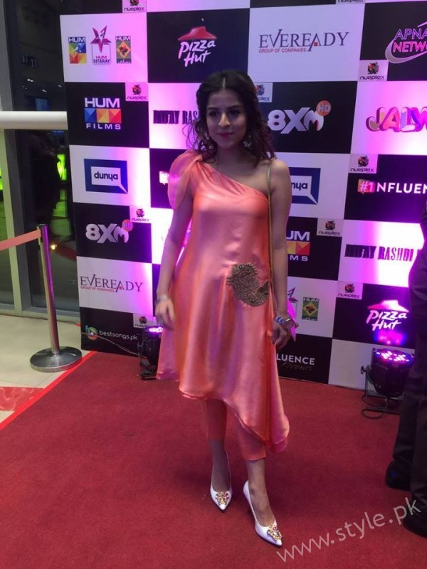 Celebrities at Premiere of Thora Jee Le (10)