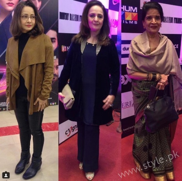 Celebrities at Premiere of Thora Jee Le (2)