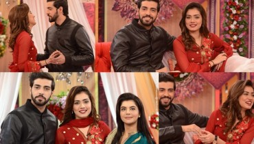 See Furqan Qureshi and Sabrina Naqvi in Good Morning Pakistan