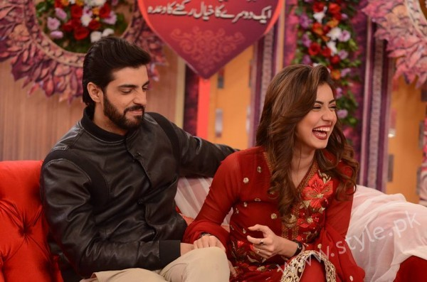 Furqan Qureshi and Sabrina Naqvi in Good Morning Pakistan (13)