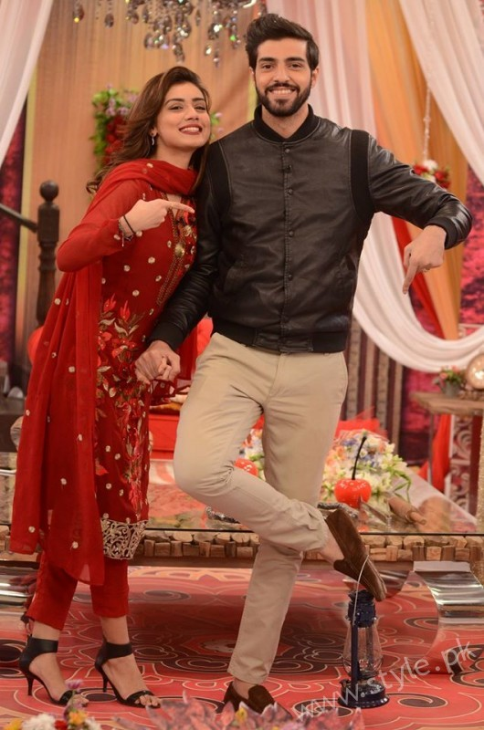 Furqan Qureshi and Sabrina Naqvi in Good Morning Pakistan (14)