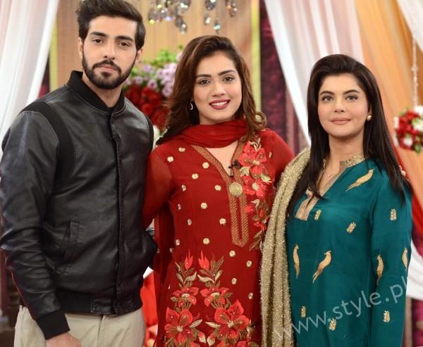 Furqan Qureshi and Sabrina Naqvi in Good Morning Pakistan (17)