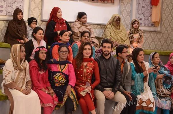 Furqan Qureshi and Sabrina Naqvi in Good Morning Pakistan (18)