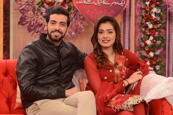Furqan Qureshi and Sabrina Naqvi in Good Morning Pakistan (5)
