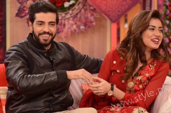 Furqan Qureshi and Sabrina Naqvi in Good Morning Pakistan (6)