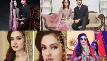 See Furqan Qureshi and Sabrina Naqvi's Reception and Wedding Pictures