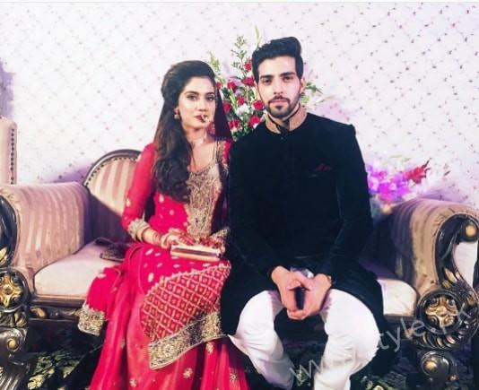 Furqan Qureshi and Sabrina Naqvi's Reception and Wedding Pictures (10)