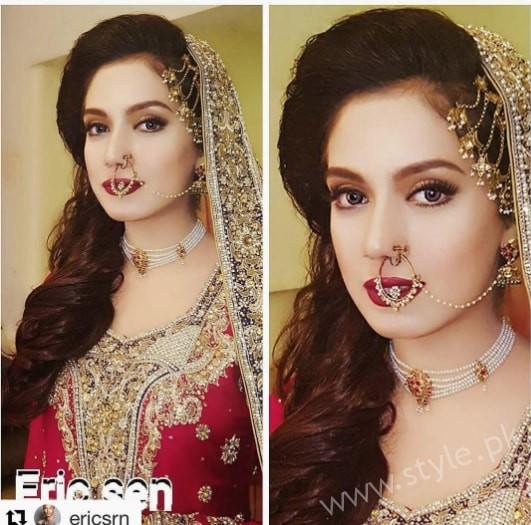 Furqan Qureshi and Sabrina Naqvi's Reception and Wedding Pictures (6)
