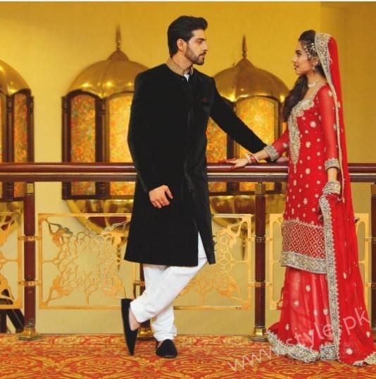 Furqan Qureshi and Sabrina Naqvi's Reception and Wedding Pictures (8)