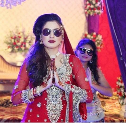 Furqan Qureshi and Sabrina Naqvi's Reception and Wedding Pictures (9)
