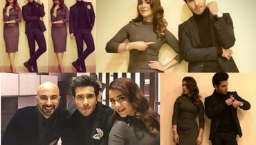 See Humaima Malick and Feroze Khan at Tonight with HSY