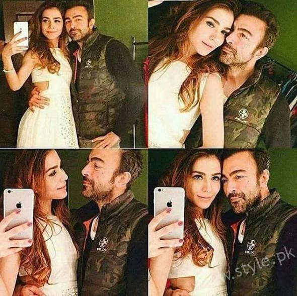Humaima Malik and Shaan Shahid