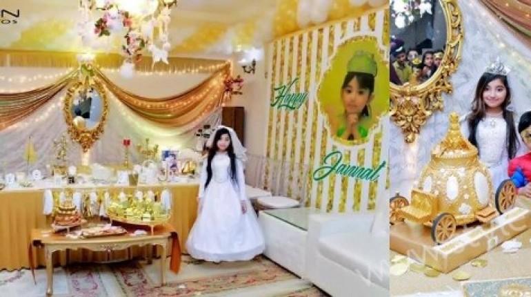 See Javeria Saud's Daughter Jannat's Birthday Pictures