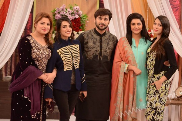Kon Bane Gi Humayun Asraf Ki Dulhan Special Show in Good Morning Pakistan (10)