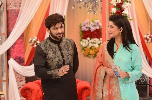 Kon Bane Gi Humayun Asraf Ki Dulhan Special Show in Good Morning Pakistan (2)