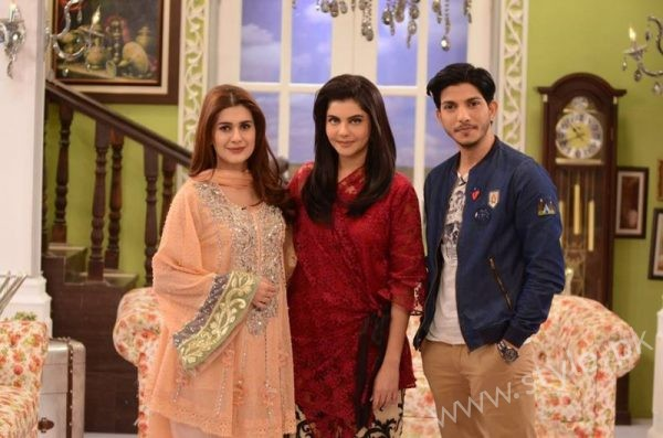 Kubra Khan, Nida Yasir and Mohsin Abbas