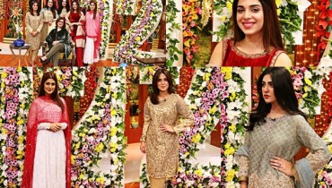 See Kubra Khan, Sarah Khan, Iqra Aziz and Sonya Hussain at 12 Anniversary of HUM TV