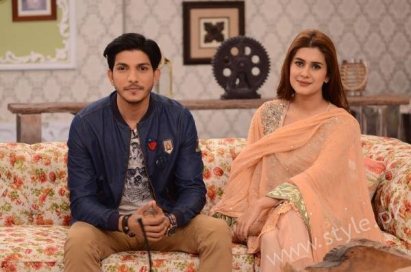Kubra khan and Mohsin Abbas in Nida Yasir Show (3)