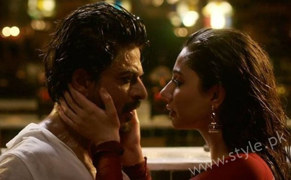 Mahira Khan SRK Raees