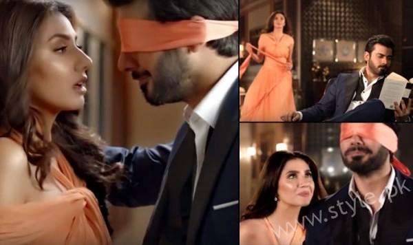 Mahira Khan and Fawad Khan