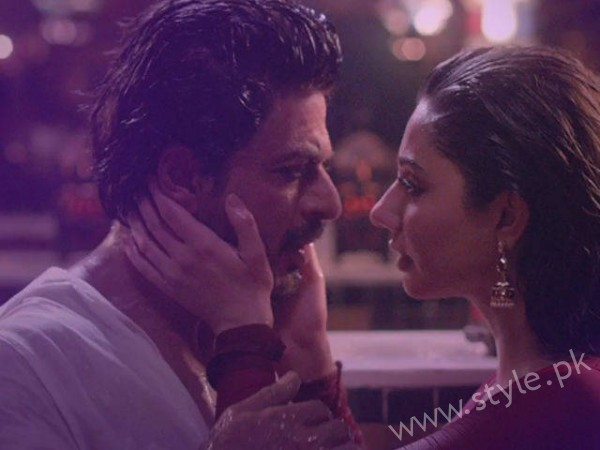 Mahira Khan and Shahrukh Khan Movie
