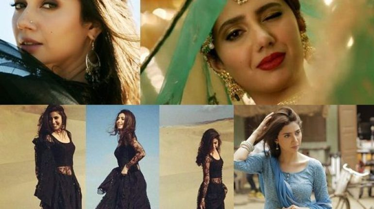 See Mahira Khan's Top Desi Looks in Raees that Give us Major Style Goals