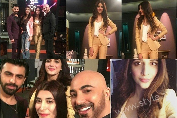 See Marwa Hocane, Urwa Hocane and Farhan Saeed at Tonight with HSY