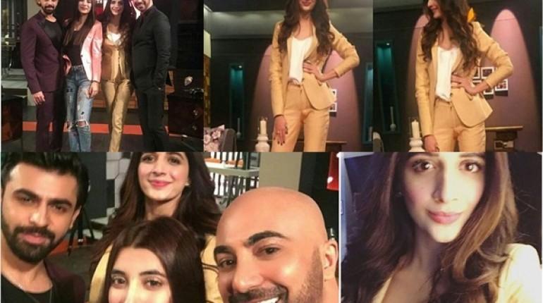 See Marwa Hocane, Urwa Hocane and Farhan Saeed at Tonight with HSY